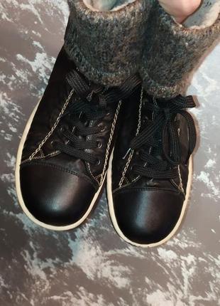 Женские зимние ботинки rieker original 39 розмір 25,5 см стелька