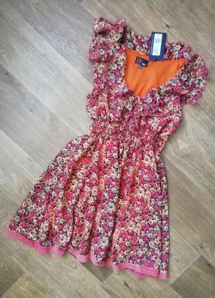 Летнее платье, шифоновый сарафан, сукня