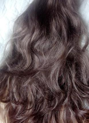 Шиньон локоны, волосы искусственные как натуральные, длина 60 см. обмен