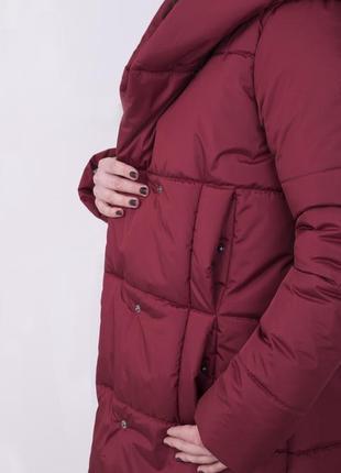 Распродажа от производителя! женская зимняя куртка с капюшоном высокого качества