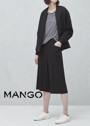 Укороченные широкие брюки ,  кюлоты mango