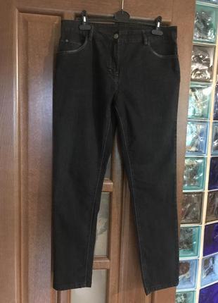 Чёрные джинсы, размер 44 европейский.