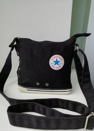 Стильна фірмова сумочка кросбоді converse!!! оригінал!!!