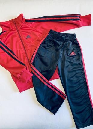 Спортивный костюм adidas на девочку 4 года