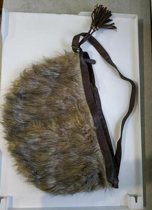 Меховая сумка*