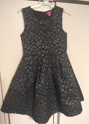 Теплое, элегантное,нарядное, можно на новый год платье на девочку 12-13лет