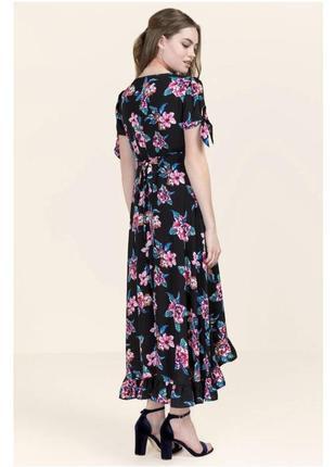 Огромный выбор! длинное платье в цветы francesca's