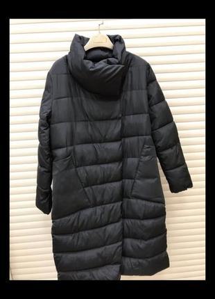 Жіноче зимове пальто куртка пуховик
