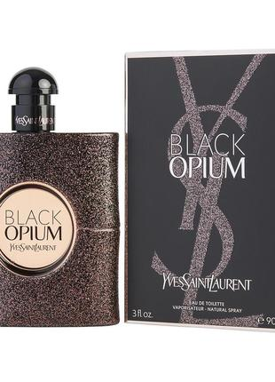 Yves saint laurent black opium eau de toilette, туалетная вода 90 мл, оригинал