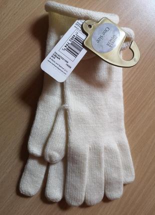 Рукавицы перчатки marks&spencer one size