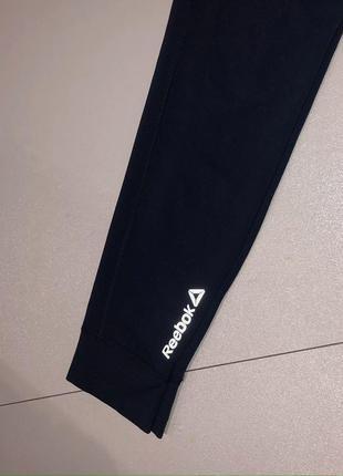 Спортивные темно-синие лосины леггинсы reebok оригинал xs