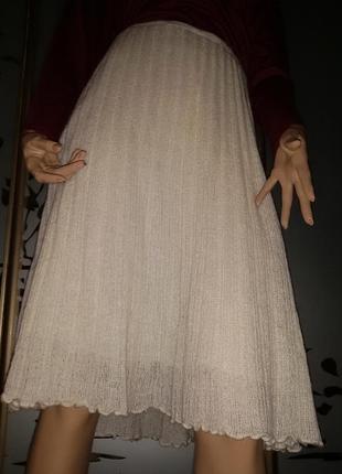 Юбка брендовая италия , теплая, шерсть ангора, 52-54 размер