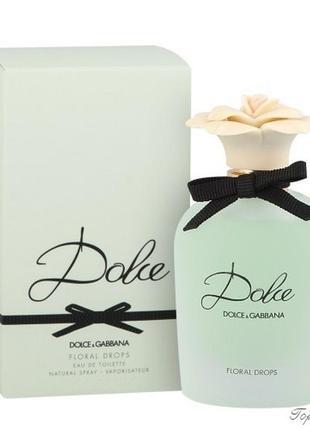 Dolce&gabbana dolce floral drops, 75 мл, оригинал