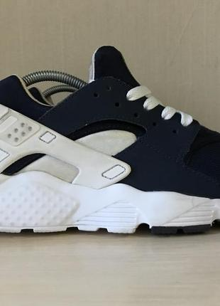 Кроссовки nike air huarache navy run оригинал