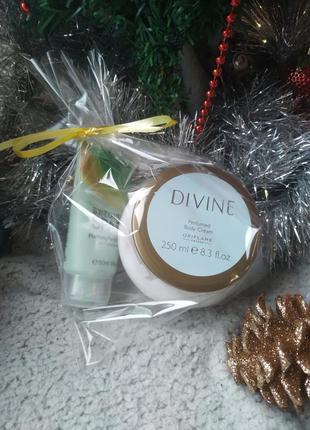 Подарочный набор: крем для тела divine + маска для лица