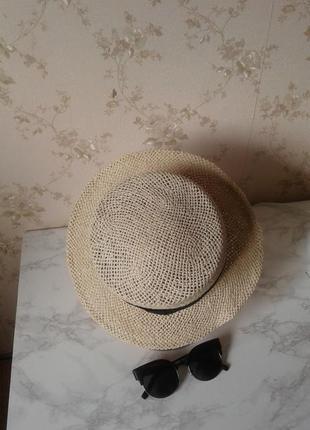 Летняя шляпа с небольшими полями topshop