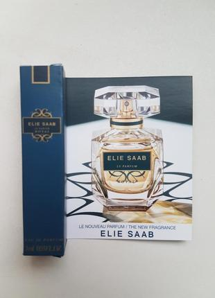 Парфюмированная вода elie saab le parfum royal пробник новинка 2019