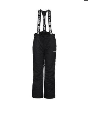 Профессиональные лыжные штаны на подтяжках