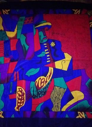 Picasso  большой шелковый платок