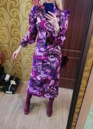 Шикарное винтажное платье 🔥