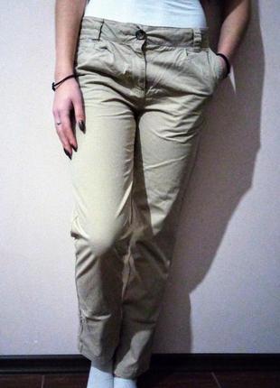 Класичні штани papaya/классические брюки/ базовые/ котоновые