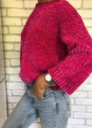 Кофта крупная вязка, джемпер, свитер, светр, светрик, свитшот, світшот/обмен/продажа/обмін