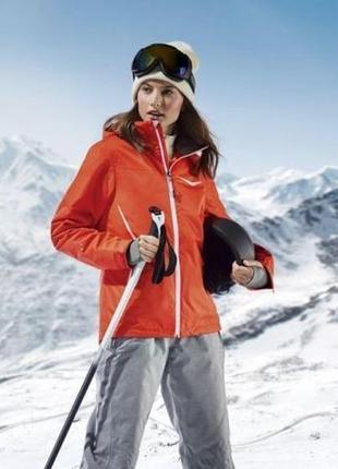 Яркая спортивная лыжная мембранная термо куртка crivit sports германия