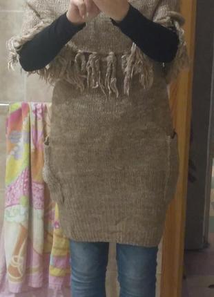 Супер свитер-платье