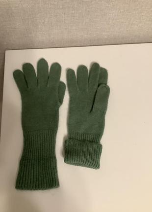 Перчатки тёплые вязаные р.м