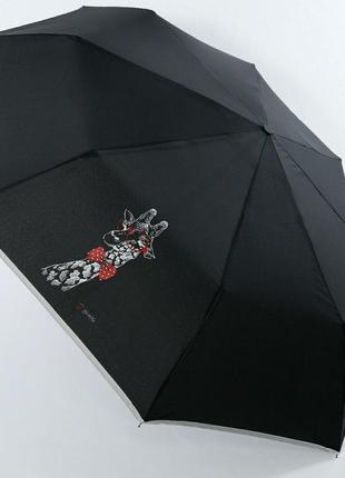 Зонт женский artrain,  полуавтомат, 3 сложения.