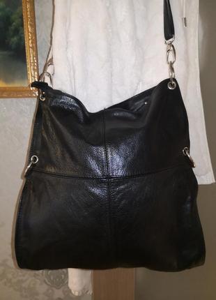 Большая красивая сумка real leather, италия🦋🦋🔥💥🏵️