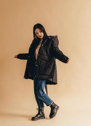 Новая чёрная зимняя куртка