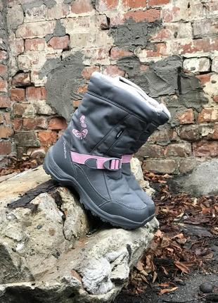 Ботинки quechua женские фирменные зимние на меху оригинальные сапожки