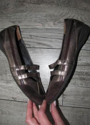 Кожаные туфли  paul green р. 40- 26см