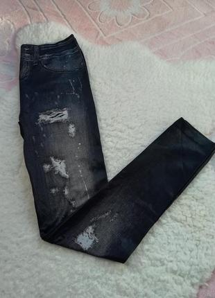 Леггинсы под джинс. лосины