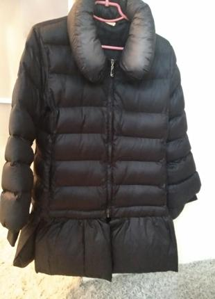 Дутая куртка зимняя очень легкая