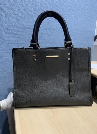 Красивая серая сумка