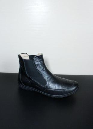 Оригинал ladysko ecco ботинки низкие ортопедические. кожа. швейцария.