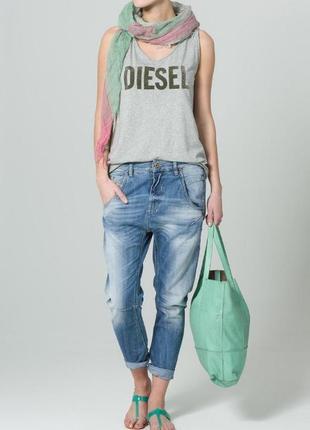 Шикарные оригинальные джинсы diesel fayza relaxed-boyfriend jeans low waist