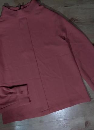 Супер блуза opus воротник стойка