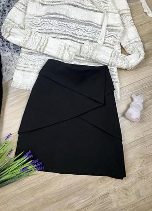 Стильная мини юбка с воланами zara 💔