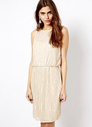 Платье в пайетках 48-50 размер