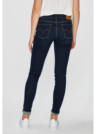 Шикарные оригинальные джинсы levis 710 super skinny premium jeans