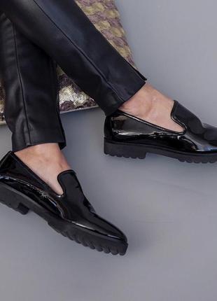 Стильные туфли лоферы от karl lagerfeld оригинал 37,5 39 размер