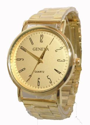 Стильные часы geneva женева унисекс