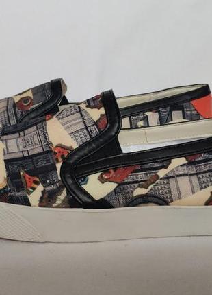 Туфли слипоны geox camotartan. 40 \ 26cm