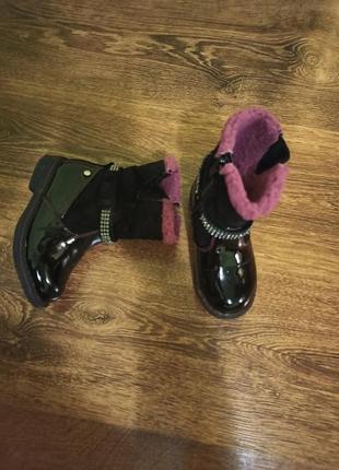 Ботинки для девочки 25 размер(15см)