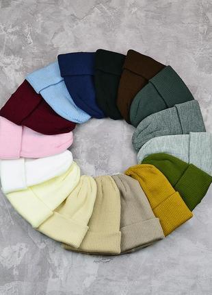 Популярные базовые шапки . качественные