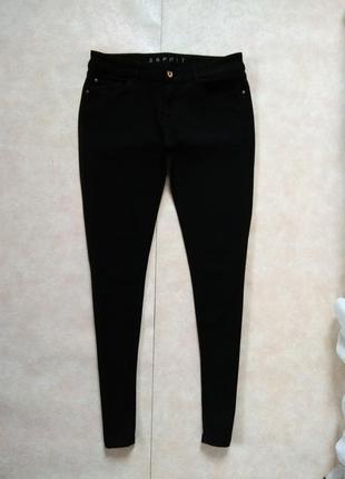 Стильные черные джинсы скинни  esprit, 14 размер