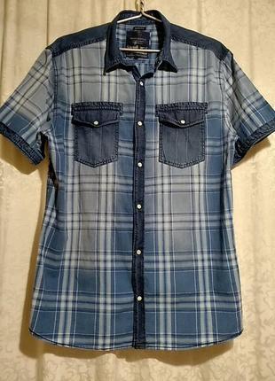 Tom tompson. рубашка с коротким рукавом.